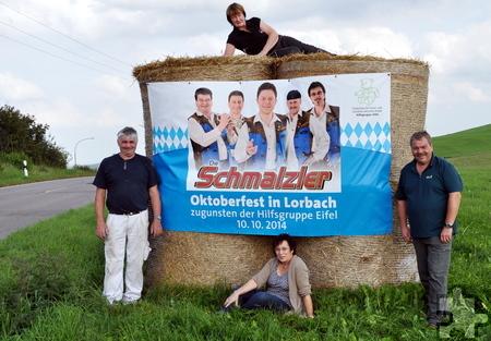 Das Oktoberfest in Lorbach ist bereits ausverkauft. Auch an der Abendkasse wird es keine Tickets mehr geben, teilen die Organisatoren Manfred Kreuser (rechts) und Hermann Josef Koch (links) mit.  Foto: Reiner Züll/pp/Agentur Profipress