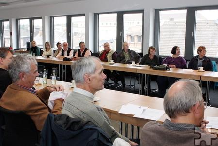 """Bei der Arbeitstagung der Archivare im Kreis Euskirchen wurde das Gemeinschaftsprojekt """"1914-1918: Ein Rheinisches Tagebuch"""" vorgestellt. Ziel ist es, noch weitere Autoren für den Blog zu gewinnen. Foto: Steffi Tucholke/pp/Agentur ProfiPress"""