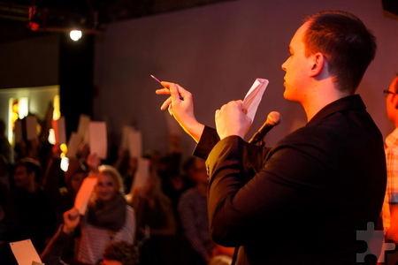 Slam-Experte Robert Targan aus Aachen moderiert im Rahmen der Lit.Eifel die beiden ersten Poetry Slam-Veranstaltungen in Eupen. Foto: Privat/pp/Agentur ProfiPress