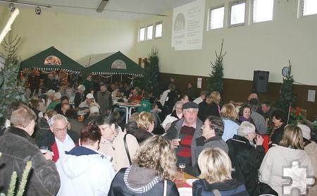 Am ersten Adventswochenende, 29. und 30. November, findet der traditionelle Adventsmarkt in der Strempter Turnhalle statt. Foto: Pri-vat/pp/Agentur ProfiPress