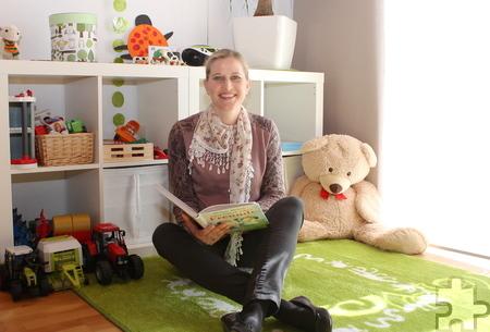Katja Klapperich kennt die Teilzeitarbeit aus Sicht der Kita-Leitung und auch als Mutter. Sie glaubt: Einem familienfreundlichen Arbeitgeber bleibt das Personal lange erhalten. Foto: Steffi Tucholke/pp/Agentur ProfiPress