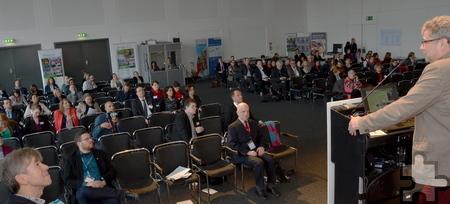 """Das Auditorium beim """"Tag des barrierefreien Tourismus"""" in Berlin bestand größtenteils aus Fachleuten. Foto: Manfred Lang/pp/Agentur ProfiPress"""