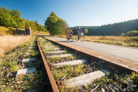 Der 125 Kilometer lange Vennbahn-Radweg ist ein starker Touristenmagnet für die Region. Foto: TAO/pp/Agentur ProfiPress
