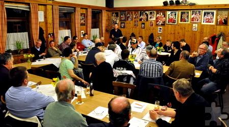 Die Mitgliederversammlung zur Wahl des neuen Vorstandes des Kaller Sport Clubs (KSC) war gut besucht.  Foto: Reiner Züll/pp/Agentur ProfiPress