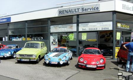 Zur 20. Auflage des Renault Oldie Treffens in Roggendorf waren so viele Fahrzeuge und Besucher wie nie am Start. Foto: Privat/pp/Agentur ProfiPress