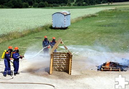 Ein unvergessliches Ferienwochenende mit Übernachtung im Feuerwehrgerätehaus erlebten die Kinder und Jugendlichen des Zuges 7/2 (Bleibuir, Glehn und Floisdorf). Foto: Privat/pp/Agentur ProfiPress