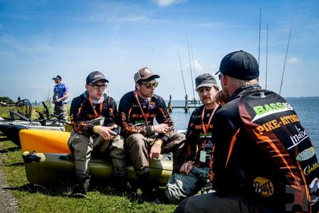 "Drei Tage lang fischte das ""Team Pike-Attack"" aus Strempt bei dem weltweit bekannten Raubfischangler-Event in Hollands Diep und Haringsvliet. Foto: Dorien van de Kuilen/pp/Agentur ProfiPress"
