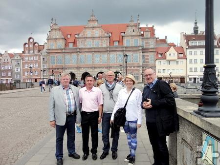 Auch ein Besuch in Danzig stand auf dem Programm für die deutschen Gäste. Foto: Privat/pp/Agentur ProfiPress