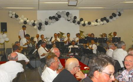Mit einem Festkommers und einem großen Musikfest feierte die Bergkapelle Mechernich jetzt ihr 145-jähriges Bestehen. Foto: Stephan Everling/KR/pp/Agentur ProfiPress