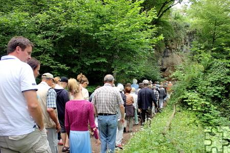 Das 5,8 Hektar große Areal um die Kakushöhlen wurde 1927 erstmals als Naturschutzgebiet ausgewiesen und ist damit das älteste Naturschutzgebiet im Kreis Euskirchen. Foto: Alice Gempfer/pp/Agentur ProfiPress