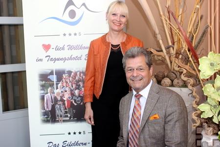 Susanne und Klaus Müller sind seit nahezu 40 Jahren in der Hotellerie zu Hause, was häufig auch eine Belastungsprobe für das Familienleben war. Foto: Alice Gempfer/pp/Agentur ProfiPress