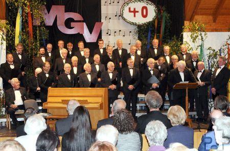 Eine beliebte Tradition ist das Weihnachtskonzert des Männergesangvereins Kommern, das am Samstag, 19. Dezember, um 20 Uhr in der Bürgerhalle stattfindet. Foto: Privat/pp/Agentur ProfiPress