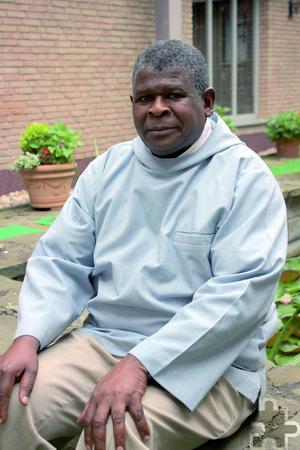 Hauptzelebrant bei der Heiligen Messe am Ordensgedenktag ist Father Alcuin Nyirenda OSB aus der internationalen Benediktinerabtei San Anselmo in Rom. Archivfoto: Alice Gempfer/pp/Agentur ProfiPress