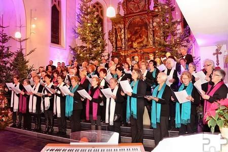 """Die musikalische Gestaltung des Gottesdienstes ab 10 Uhr und des anschließenden Festaktes übernimmt der Gesangsverein """"Eifelklang"""" aus Mutscheid. Foto: Ralf König"""