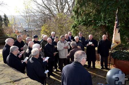 Der Männergesangverein Mechernich trug ebenso seinen Teil zum Musikprogramm der Feierlichkeiten bei wie Bergkapelle und Stadt-Tambourkorps. Foto: Manfred Lang/pp/ProfiPress