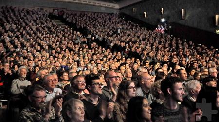 Das Kulturkino in Vogelsang war bis auf den letzten Platz besetzt. Innerhalb weniger Tage waren alle1150 Eintrittskarten vergriffen gewesen. Foto: Reiner Züll/pp/Agentur ProfiPress