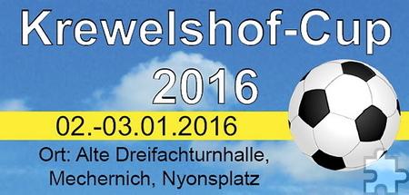 Der SSC Firmenich 1913 e.V. richtet wieder gemeinsam mit dem Krewelshof ein zweitägiges Fußball-Hallenturnier in der Dreifachturnhalle in Mechernich aus. Repro: SSC Firmenich/pp/Agentur ProfiPress