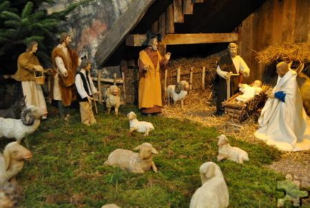 Noch bis zum 24. Januar kann die Krippe in der Strempter Pfarrkirche St. Rochus sonntags ab 14.30 Uhr besichtigt werden, auf Anfrage können auch andere Zeiten vereinbart werden. Foto: Renate Hotse/pp/Agentur ProfiPress