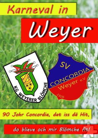 Sport- und Karnevalsverein feiern in Weyer gemeinsam Karneval. Repro: pp/Agentur ProfiPress