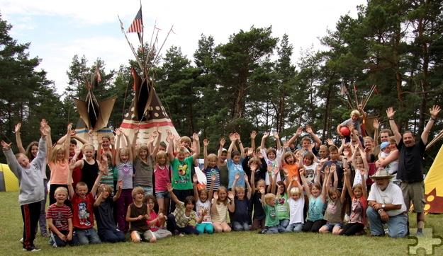 """Bei den """"Ferienspaß""""-Aktionen wie beim Zeltlager in Holzheim, hier in einem früheren Jahr, können die Mechernicher Kinder und Jugendlichen sich wieder austoben. Archivfoto: Privat/pp/AgenturProfiPress"""