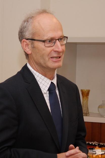 """""""Gemeinschaft macht stark"""", betonte Mechernichs Bürgermeister Dr. Hans-Peter Schick beim Jubiläum der Parkinson-Selbsthilfegruppe. Foto: Steffi Tucholke/pp/AgenturProfiPress"""