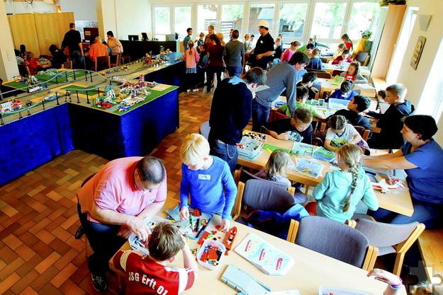 Von Donnerstag bis Sonntag, 26. bis 29. Mai, veranstaltet die Freie evangelische Gemeinde Mechernich zum dritten Mal die Lego-Bautage für Kinder zwischen acht und zwölf Jahren. Foto: Josia Wiegand/pp/Agentur ProfiPress