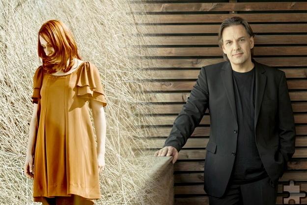 """Die Jazz-Sängerin Inga Lühning und der Jazz-Musiker André Nendza haben als """"Duo zwischen Jazz und Pop"""" ihre Premiere bei der Feykultur am Samstag, 4. Juni. Foto: Neomania Design"""