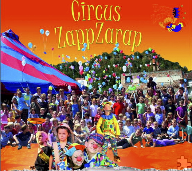 """Zum """"Circus ZappZarap"""" wird die Grundschule Mechernich. Die kleinen Artisten laden zu insgesamt vier tollen Zirkusvorstellungen ein. Foto: Privat/pp/Agentur ProfiPress"""