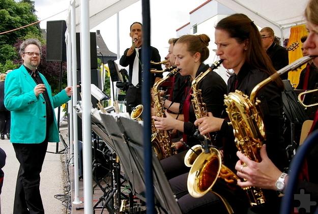 Für flotte Klänge beim Sommerfest des Communio-Sozialwerks sorgt am Sonntag, 19. Juni die Big Band der Prinzengarde Mechernich. Foto: CIC/pp/Agentur ProfiPress