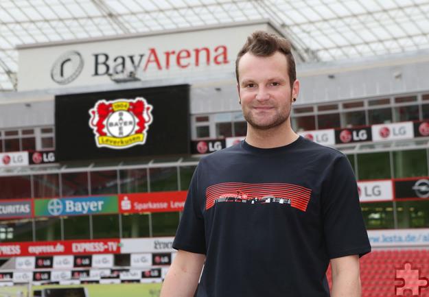 Thomas Wagner von Radio Euskirchen wird neuer Stadionsprecher bei Bayer Leverkusen. Foto: Privat/pp/Agentur ProfiPress