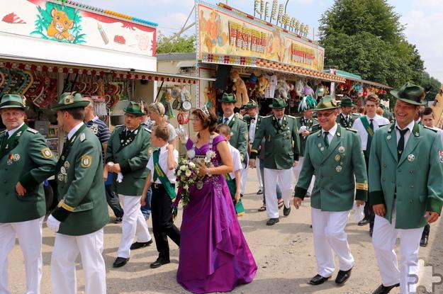 Das Schwerfener Schützenfest – hier ein Archivbild – ist eines der ganz großen Volksfeste in der Zülpicher Börde. Foto: Sebastianusbruderschaft Schwerfen/pp/Agentur ProfiPress