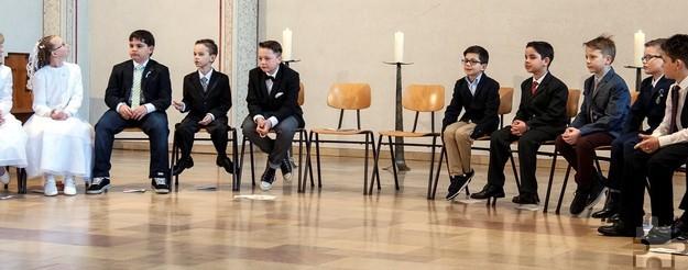 """Für die """"Nachfolger"""" der Kommunionkinder von 2016 starten ab Ende Oktober die Vorbereitungsgespräche. Foto: GdG St. Barbara Mechernich/pp/Agentur Profipress"""