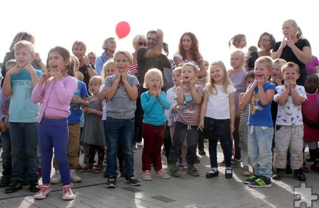 Mit 170 Kindern in acht Gruppen ist das Rotkreuz-Familienzentrum Weilerswist-Süd die größte Einrichtung dieser Art in der Region. Foto: Steffi Tucholke/pp/Agentur ProfiPress