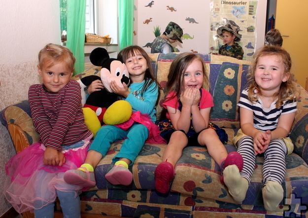 """75 Kinder besuchen aktuell die Kindertagesstätte Grünschnabel in Kall, die jetzt zum dritten Mal das Gütesiegel """"Familienzentrum NRW"""" erhalten hat. Foto: Steffi Tucholke/pp/Agentur ProfiPress"""