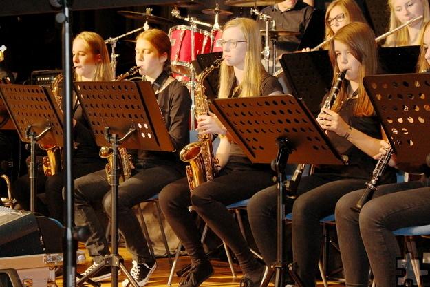 """Einen Einblick in die musikalische Vielfalt am GAT gibt die Bigband """"GAT the sound"""" den Besuchern beim Tag der offenen Tür am Samstag, 12. November, von 9 bis 13 Uhr. Foto: Bernhard Karst/pp/Agentur ProfiPress"""