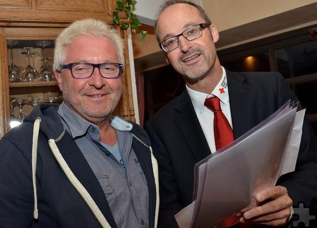 62,5 Liter Blut hat der 57-jährige Heinz Schmitz aus Mechernich-Berg bislang für andere Menschen gespendet – statistisch hat er damit mehrere Leben gerettet. Foto: ml/pp/ProfiPress