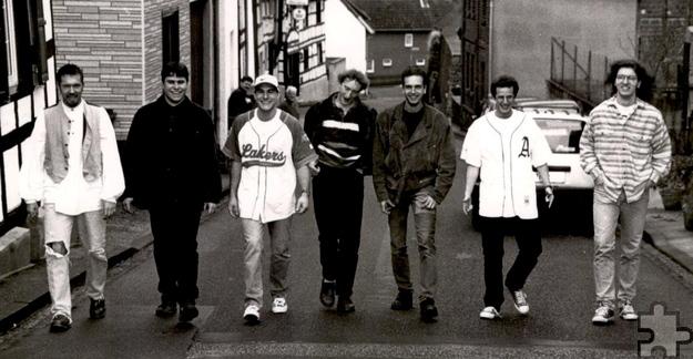 So jung kamen sie nie wieder zusammen: Die Nöthener Band Exit anno 1995. Foto: Privat/pp/Agentur ProfiPress
