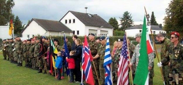 Diesmal waren Soldatinnen und Soldaten unter anderem aus Deutschland, Belgien, Norwegen, den USA, Luxemburg und den Niederlanden am Start.  Foto: Manfred Lang/pp/Agentur ProfiPress