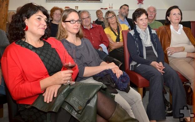 Teils andächtig, teils amüsiert lauschte das Publikum Imgrunds bildlichen Schilderungen. Foto: Sarah Winter/pp/Agentur ProfiPress