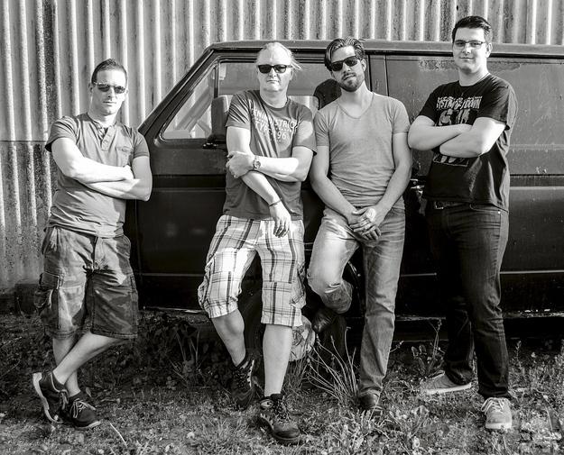 Die noch junge Band UnXpected, hier ein Bild aus diesem Sommer, gründete sich vor zwei Jahren. Foto: Privat/pp/Agentur ProfiPress