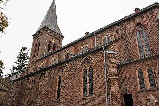 Der Gedenkgottesdienst findet in St. Severinus in Kommern, der größten Kirche im Seelsorgebereich Veytal, statt. Foto: Thomas Schmitz/pp/Agentur ProfiPress