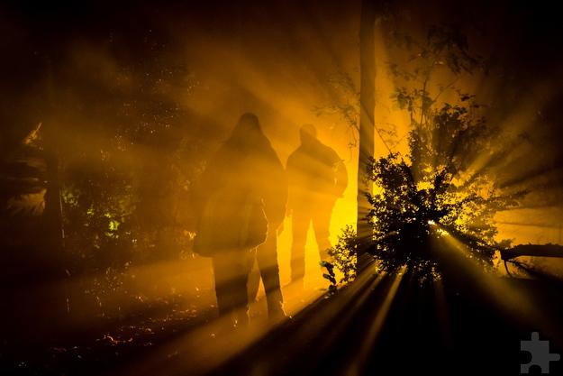 """Im """"Labyrinth des Schreckens"""" kommen selbst die Unerschrockensten auf ihre Kosten. Foto: Mike Göhre/Der Fotoschmied/pp/Agentur ProfiPress"""