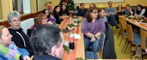 Teilansicht der Jahreshauptversammlung des Roten Kreuzes in der Stadt Mechernich am Freitagabend in der Alten Schule im Sande. Foto: Manfred Lang/pp/Agentur ProfiPress