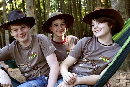 Bei den Junior-Rangern erfahren Kinder und Jugendliche viel über den Wald und seine Bewohner. Foto: A. Morascher/pp/Agentur ProfiPress