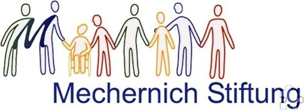 Das Balkenlogo der Mechernich-Stiftung, wie es im Jahre 2006 von der Lückerather Grafikerin Anna Lang für den damaligen Stiftungsvorsitzenden und Mechernicher Ersten Beigeordneten Christian Baans entworfen wurde. Grafik: Archiv Agentur ProfiPress