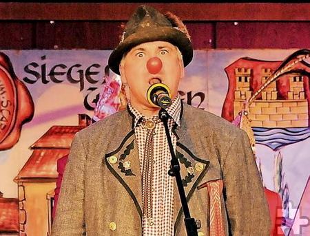 """Der """"Flachlandtiroler"""" Ralf Gerresheim wird auch sein Publikum in Bleibuir bei der Kostümsitzung am Samstag, 11. Februar zum Lachen bringen. Foto: Privat/pp/Agentur ProfiPress"""