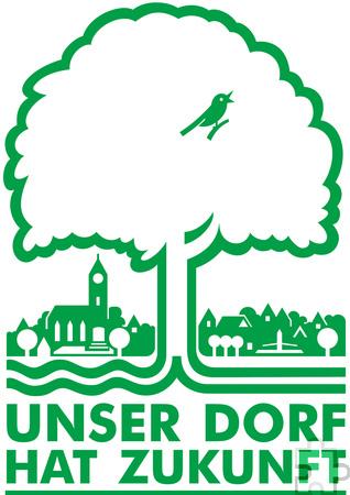 Das Plakat des 2017er Dorfwettbewerbs Grafik: NRW/Kreis Euskirchen/pp