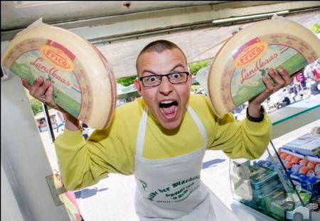 Käse-Alex ist Deutschlands jüngster Marktschreier. In Kall wird er zeigen, dass er den Großen in nichts nachsteht. Foto: Veranstalter/pp/Agentur ProfiPress