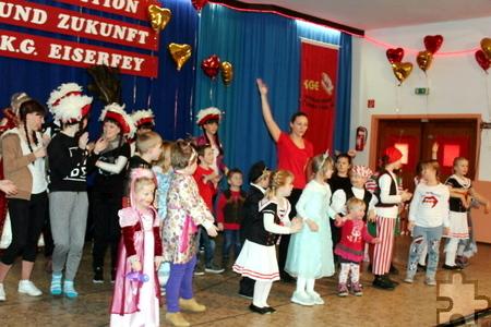 Auf ein buntes Programm dürfen sich die großen und kleinen Narren beim Eiserfeyer Kinderkarneval freuen. Foto: Privat/pp/Agentur ProfiPress