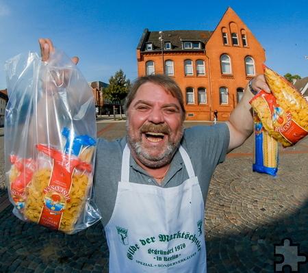 Dieter Steinke ist in Kall als Nudel-Dieter dabei. Foto: Veranstalter/Stephan Schuetze/pp/Agentur ProfiPress